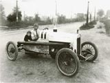 Wells Street, Jack Mattes in race car