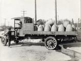 Maynard Electric Steel Casting delivery truck