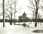 St Josaphat's Basilica in winter