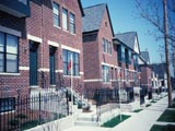 Oakland Avenue duplexes, north of Hartford Avenue