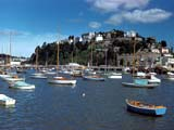 Sailboats in Torquay, England