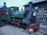 Locomotive in Wales