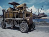 Log transporter in West Indies