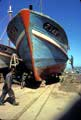 Boats in dry dock, Safi, Morocco