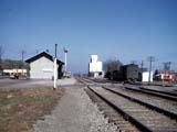 Train station in Morrisonville, Illinois.