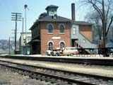 Illinois Central Railroad Station in Galena, Illinois.