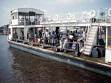 Ferry in Malebo Pool, Brazzaville, Republic of the Congo