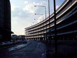 Parking garage at O'Hare International Airport in Chicago, Illinois