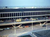 Terminal building at O'Hare International Airport in Chicago, Illinois