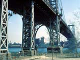 The Williamsburg Bridge in New York, New York