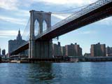 The Brooklyn Bridge in New York, New York