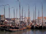 Fishing boats in Netherlands