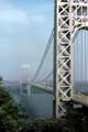 George Washington Bridge connecting Fort Lee, New Jersey to New York, New York