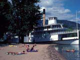 Stern wheeler  Sicamous  on Okanagan Lake in Penticton, Canada