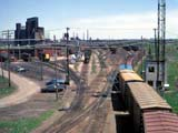 Railroad yard, Buffalo, New York