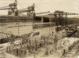 Construction site of Panama Canal