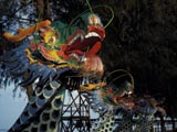 Figureheads of dragon boats in Taiwan