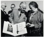 1969: Golda Meir with Mayor Richard Jackson at the Atlantic City airport