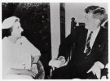 1962: Golda Meir with President John F. Kennedy at the White House