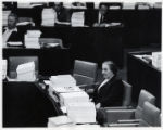 1970: Golda Meir during a session of the 7th Knesset in Israel