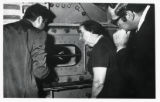 1971: Golda Meir at the Aeronautical Engineering Laboratories of Technion