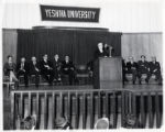 1963: Golda Meir speaking at Yeshiva University