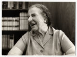 1970: Golda Meir in her office
