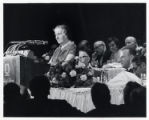 Golda Meir at a State of Israel Bonds dinner in New York