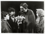 Theatrical depiction of Golda Meir