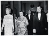 1969: Golda Meir at White House State Dinner with President and Mrs. Nixon