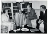 1969: Golda Meir with Secretary of Defense Laird and Ambassador Rabin in Washington D.C.