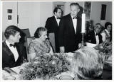 1969: Golda Meir with Senator Ted Kennedy in Washington D.C.