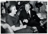 1969: Golda Meir with Governor Nelson Rockefeller in New York City