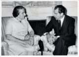 1969: Golda Meir and Richard Nixon
