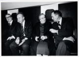 1973: Golda Meir with Joseph Sisco and Yitzhak Rabin