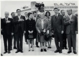 1969: Golda Meir with Mayor and Mrs. Henry Maier at the Milwaukee airport