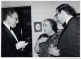 1973: Golda Meir with Simcha Dinitz and Henry Kissinger