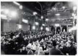 1972: Jews in Synagogue Chorale, Bucharest waiting for Golda Meir