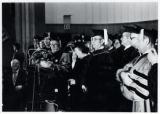 1973: Golda Meir receiving honorary degree at Yeshiva University in New York