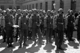 Warsaw August 1939, Polish soldiers during the military parade