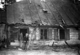 Bombing of Poland in September 1939, house destroyed by bombing