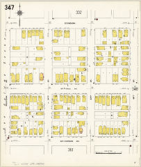 Milwaukee 1910, vol. 4, sheet 347