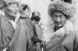Elderly Tibetan men in Qinghai province