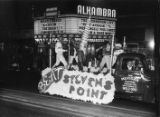 Homecoming parade float