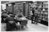 Students in the UWM Library