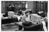 Students using computers at UWM Libraries