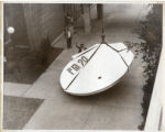 Satellite dish being installed at WUWM Radio