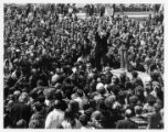 Student demonstration against invasion of Cambodia and Black activism