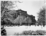 Mitchell Hall in winter