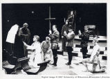 Scene from student performance of Enrico IV